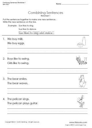 16 Best Images Of Compound Sentences Worksheets 2nd Grade  Combining Sentences Worksheets