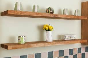 five reasons to choose solid wood floating shelves