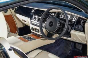 Rolls-Royce Wraith Interior