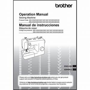 Instruction Manual  Brother Lx2763   Sewing Parts Online