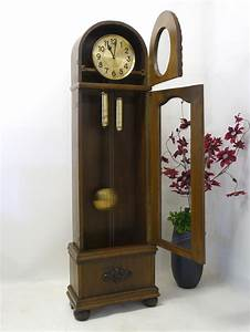 Wanduhren Mit Pendel Antik : uhr standuhr wanduhr antik art deco um 1920 aus eiche 2492 ~ Watch28wear.com Haus und Dekorationen