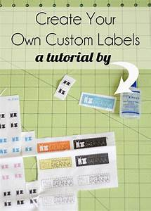 25 best ideas about fabric labels on pinterest printer With create your own clothing tags