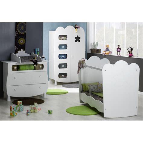 chambre evolutive pour bebe chambre bébé complète plexi blanc leonblck01p
