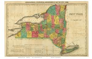 Old New York State Maps