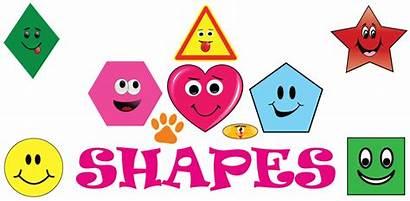 Shapes Fun Clipart Transparent Toddler Education Webstockreview