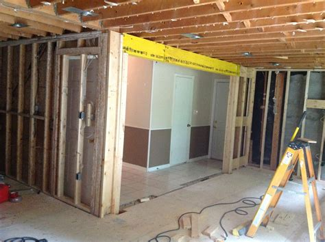 how to remove a load bearing interior wall removing a weight bearing wall tcworks org
