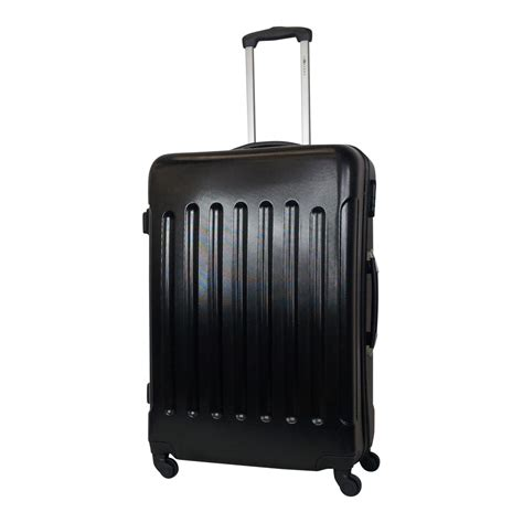grote abs l leonardo abs koffer l butch zwart luggage 4 all