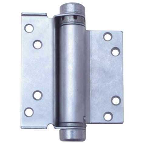 hfh door hinge   single action hold closed mm satin chrome pair  shipping scl