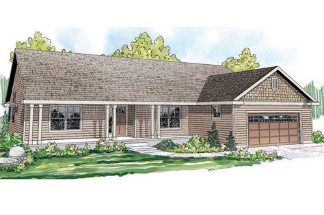Craftsman-inspired Ranch Home Plan