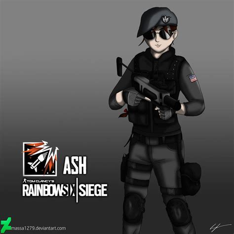 siege cotoons rainbow six siege ash by massa1279 on deviantart