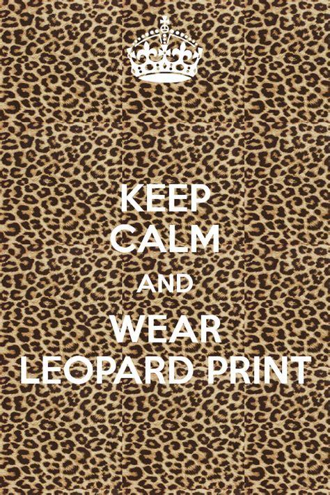 Leopard Print Quotes. QuotesGram