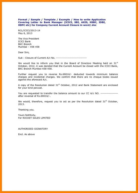 hdfc bank credit card cancellation letter format
