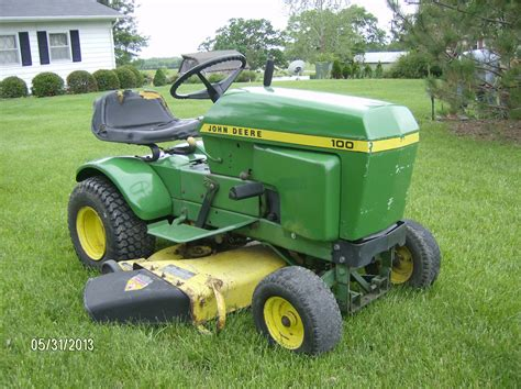 my 1978 deere 100 lawn tractor