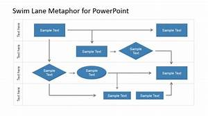 Swim Lane Powerpoint Diagrams