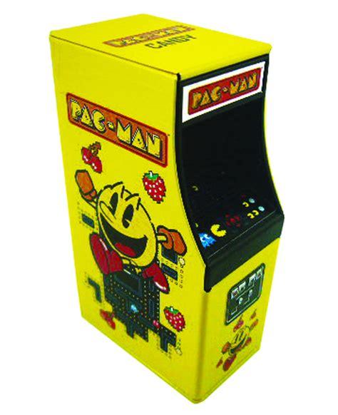 pac man arcade cabinet previewsworld pac man cabinet candy tin 12ct disp net