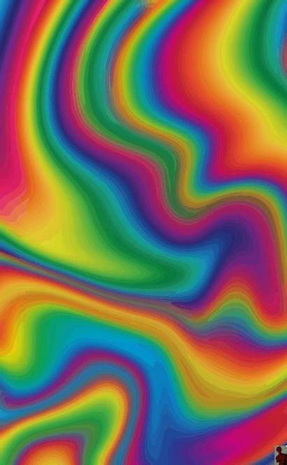 Aesthetic Rainbow Colorful Retro Pureblindingcolour Backgrounds Fluid