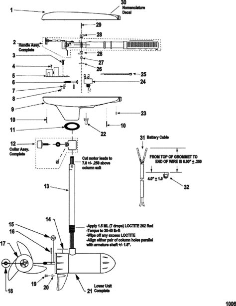 Marine Parts Plus Trolling Motors Serial Motorguide Great