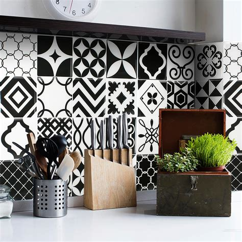 decorative wall tiles smart tiles vintage bilbao 9 in w x 9 in h peel and
