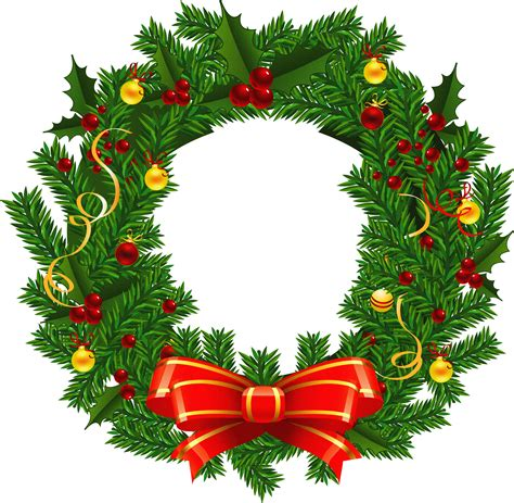wreaths images clipart of christmas wreaths 3 image 2 clipartix