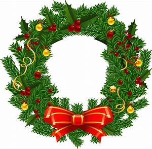 Christmas Wreaths Pictures Clip Art - ClipArt Best