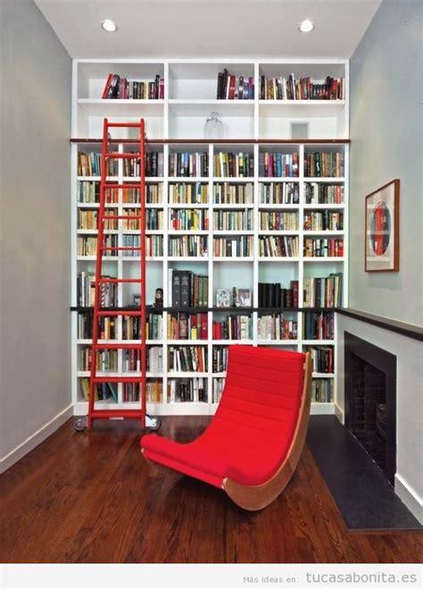 ideas excepcionales  tener una preciosa biblioteca en