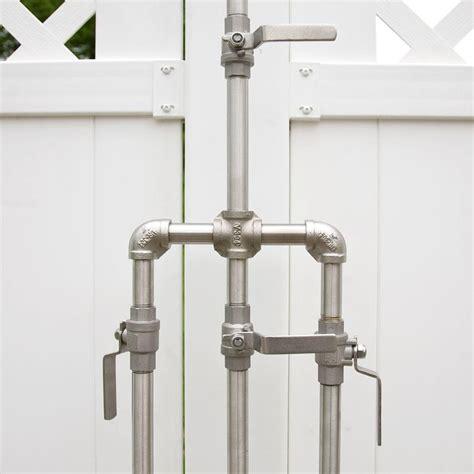 external shower valve deluxe outdoor shower mixer with foot shower in 2019