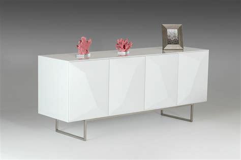 White Sideboard Modern by Modrest Vanguard Modern White Buffet Buffets Dining