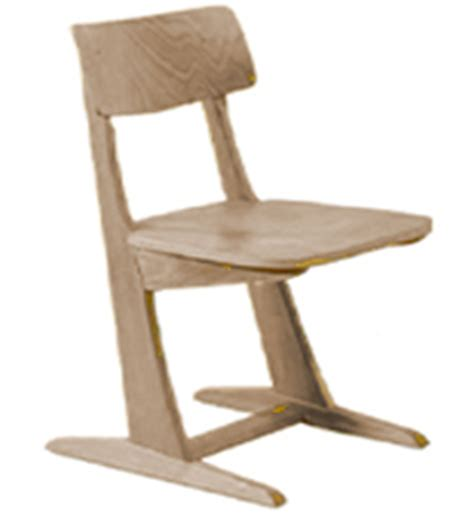 Schülerstuhl Holzkufe, Schulstühle Holz, Schulmöbel