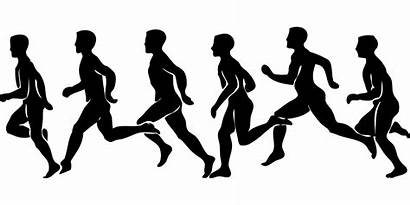 Clipart Cross Country Track Runner Transparent Silhouette