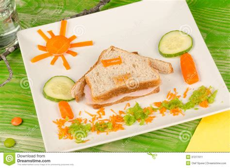 cuisine inventive sandwich for stock image image 37277011