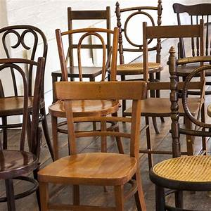 Mismatched, Wooden, Chairs