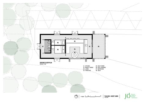 architect plans gallery of moonlight cabin jackson clements burrows 12