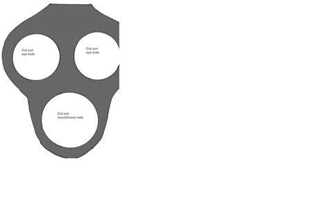 Gas Mask Template - Costumepartyrun