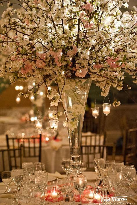 cherry blossom centerpieces botanical gardens bronx ny