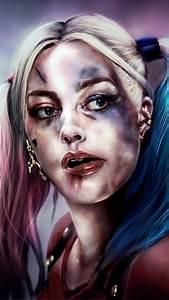 Margot Robbie Harley Quinn Mobile Wallpaper - impremedia net