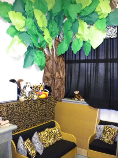 Jungle Safari Themed Classroom  Ideas & Printable