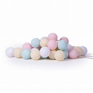 Cotton Balls Lichterkette : pastel fairy lights by cotton ball lights ~ Sanjose-hotels-ca.com Haus und Dekorationen