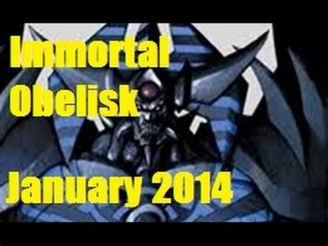 immortal obelisk deck list january 2014 v1 free video