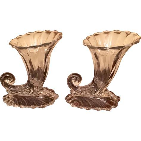 Cornucopia Vase by Pr Heisey Quot Warwick Quot Cornucopia Vases From Topdraw On