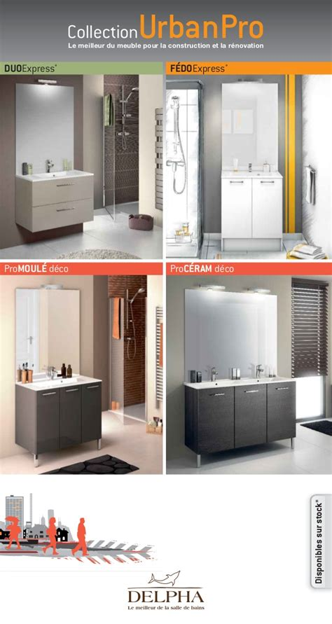 2014 catalogue meubles de salle de bains urbanpro de delpha