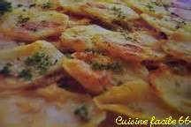 cuisine facile 66 gratin de pommes de terre et jambon la paysanne
