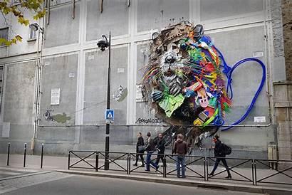 Murals Bordalo Paris Street Mural France Chosen