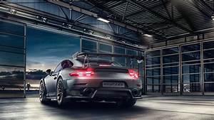 Wallpaper Porsche 911 GT2 RS, Rear view, HD, 4K
