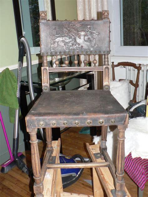 chaise henri 2 chaise henri ii habillée de blanc c 39 est le printemps