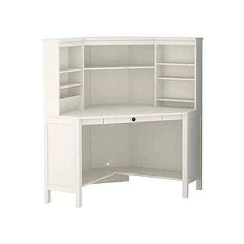 white corner desk with storage hemnes köşe çalışma masası the necessary pinterest