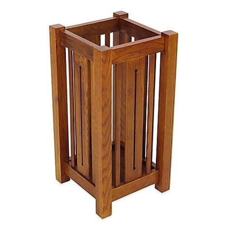 buy wayborn wooden umbrella stand  bed bath
