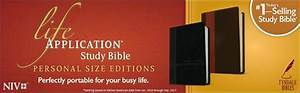life application study bible niv personal size tyndale With niv study bible personal size paperback red letter edition