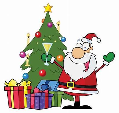 Clipart Party Christmas Clip Inn Cartoon Holiday