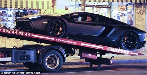 Cristiano Ronaldo's Lamborghini Aventador Breaks Down In