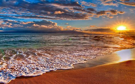 Beach Sunsets Wallpapers For Desktop (62+ Images